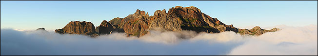 Mountains of Madeira.