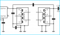 modified coupling of bandpass filter